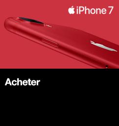 Achetez le nouvel iPhone 7 RED
