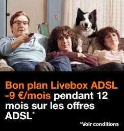 Bon plan Livebox ADSL