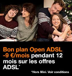 Bon plan Open ADSL
