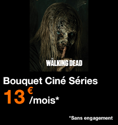 Bouquet Ciné Séries 13€ par mois
