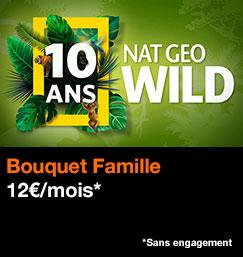 Bouquet famille NAT GEO WILD