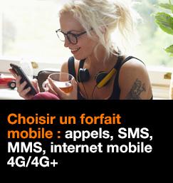 Choisir un forfait mobile