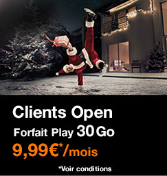Forfait Play 30Go pour clients Open