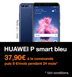 Huawei Smart P smart bleu avec étalement de paiement