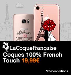 La Coque Française, coques 100% French Touch, 19,99€, voir conditions