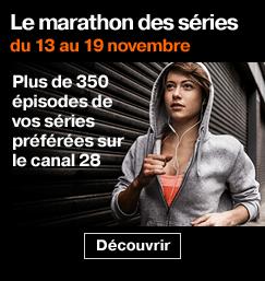'Le marathon des séries sur le canal 28' from the web at 'http://boutique.orange.fr/barreeshop/img/243x257-le-marathon-des-series-sur-le-canal-28-37757.png'