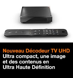 Nouveau Décodeur TV UHD
