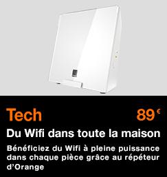 Répéteur Wifi : du Wifi dans toute la maison