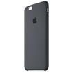 Coque Silicone pour Iphone 6S-Noir-vue2