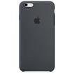 Coque Silicone Pour Iphone 6S Plus-Noir-Vue1