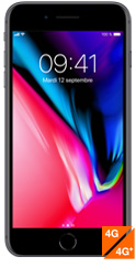 Apple iPhone 8 Plus Gris sidéral  - avis, prix, caractéristiques