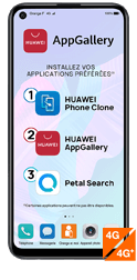 Huawei P40 lite E noir