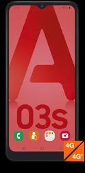 Samsung Galaxy A03s noir