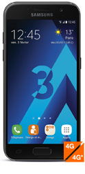 Samsung Galaxy A3 2017 - avis, prix, caractéristiques