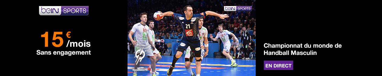 Championnat du Monde de Handball sur beIN SPORTS