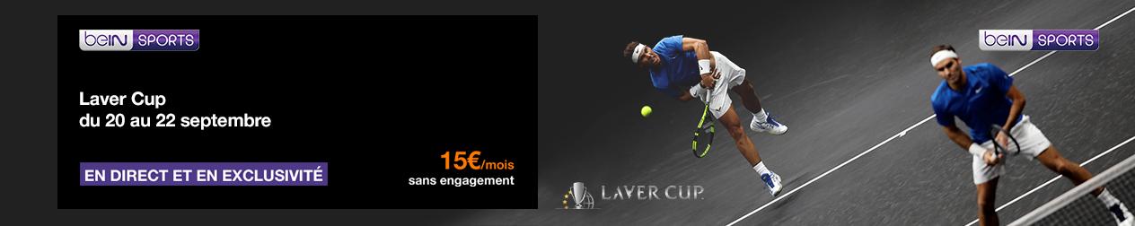 Laver Cup sur beIN Sports en septembre sur la TV d'Orange