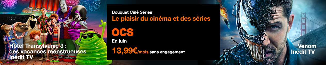 HOTEL TRANSYLAVANIE 3 et VENOM sur OCS vaec TV d'Orange
