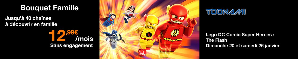 Lego DC comics Super Heroes : The flash en janvier sur Toonami