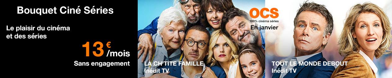 La Ch'tite famille ; tout le monde debout, inédit TV sur OCS