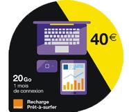 Recharges Let'sGo 40 euros
