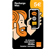 Recharges Max
