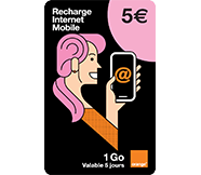 Recharges Internet mobile
