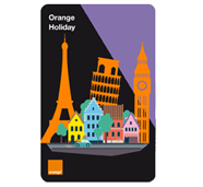 recharge Holiday 20 euros