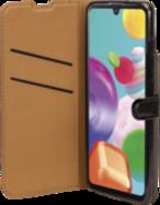 Acheter Etui à Rabat Wallet Noir pour Samsung Galaxy A41