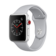 Acheter Apple Watch Series 3 Cellular 42mm alu argent bracelet nuage