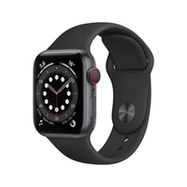 Acheter Apple Watch Series 6 Cellular 40mm alu gris sidéral bracelet sport noir