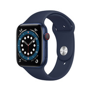 Acheter Apple Watch Series 6 Cellular 44mm alu bleu bracelet sport bleu