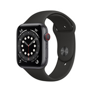 Acheter Apple Watch Series 6 Cellular 44mm alu gris sidéral bracelet sport noir