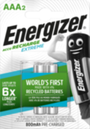 Acheter Batteries Energizer AAA 800 mAh (X2)