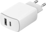 Acheter Chargeur Secteur Just Green 2 ports USB-A et USB-C 37W
