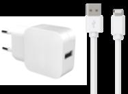 Acheter Chargeur Secteur Bigben USB-A et câble Lightning