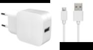 Acheter Chargeur Secteur  Bigben USB-A et câble Micro-USB