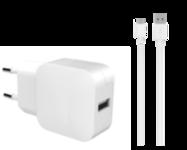 Acheter Chargeur Secteur Bigben USB-A et câble USB-C