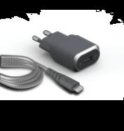 Acheter Chargeur Secteur USB-A Force Power et câble Lightning 1.2 mètre