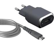 Acheter Chargeur Secteur Force Power USB-A et câble USB-C 1.2 mètre