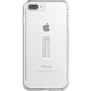 Acheter Coque Qdos calendrier pour iPhone 6 Plus, 6S Plus, 7 Plus, 8 Plus transparente