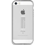 Acheter Coque Qdos calendrier pour iPhone SE transparente