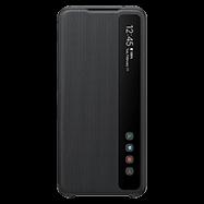 Acheter Étui à rabat Clear View Samsung Galaxy S20 Ultra noir