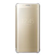 Acheter Etui à rabat Clear View Samsung S6 Edge Plus Or