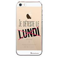 Acheter La Coque Française Je déteste le lundi iPhone 5, 5S, SE