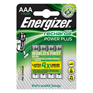 Acheter Pack 4 Piles AAA recharge energizer