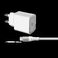 Acheter Chargeur Secteur Force Power USB-C et câble Ligthning 1.2 mètre 20W