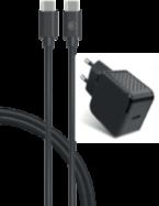 Acheter Chargeur Secteur Bigben 2 ports USB-C 25W et câble USB-C