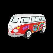 Acheter Batterie de secours MojiPower Hippie Van