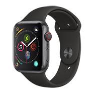 Acheter Apple Watch Series 4 4G 44mm alu gris sidéral bracelet sport noir
