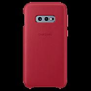 Acheter Coque cuir Samsung Galaxy S10e Rouge